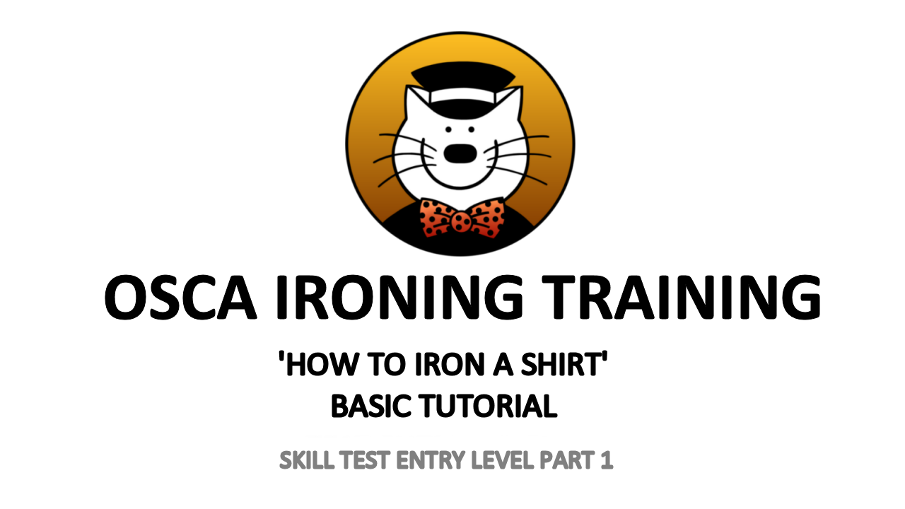 How to Iron a shirt basic tutorial by Osca